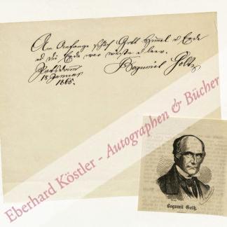 Goltz, Bogumil, Schriftsteller (1801-1870).