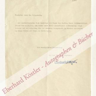 Wagner -  Wagner, Wieland, Regisseur und Bühnenbildner (1917-1966).