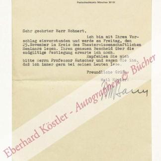 Bauer, Josef Martin, Schriftsteller (1901-1970).