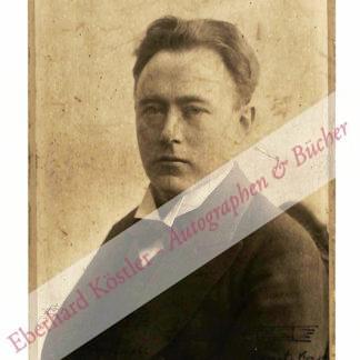 Weingartner, Felix von, Komponist und Dirigent (1863-1942).