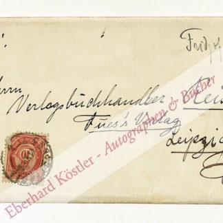 Nansen, Fridtjof, Polarforscher und Nobelpreisträger (1861-1930).