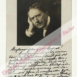 Haase, Friedrich, Schauspieler (1825-1911).