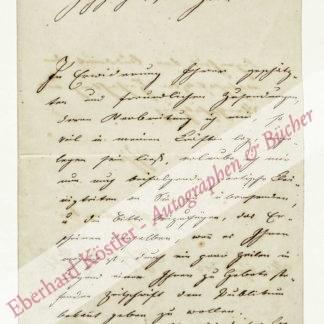 Vogl, Johann Nepomuk, Schriftsteller (1802-1866).