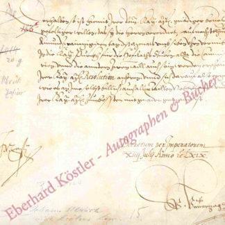 Zasius, Johann Ulrich, kaiserlicher Rat (1521-1570).