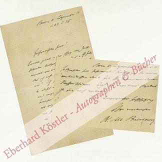 Goetheforscher -  Bielschowsky, Albert, Literaturwissenschaftler (1847-1902).