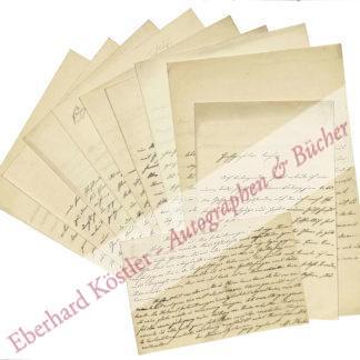 Goetheforscher -  Koch, Max, Literaturhistoriker (1855-1931).