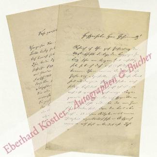 Goetheforscher -  Strehlke, Friedrich, Philologe (1825-1896).