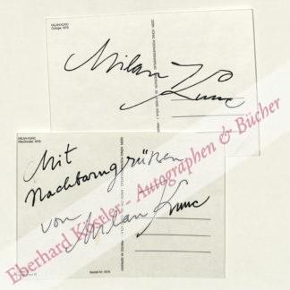 Kunc, Milan, Maler und Graphiker (geb. 1944).
