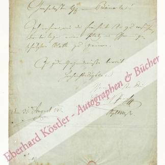 Proch, Heinrich, Komponist und Dirigent (1809-1878).