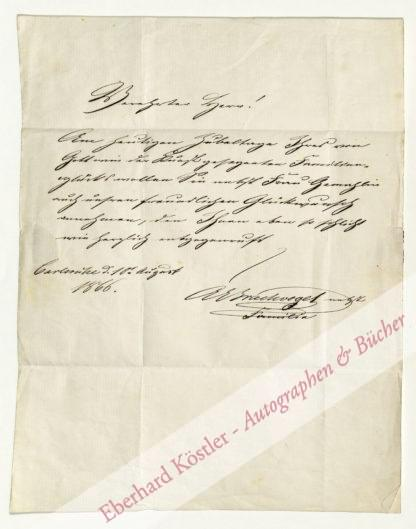 Brachvogel, Albert Emil, Schriftsteller (1824-1878).