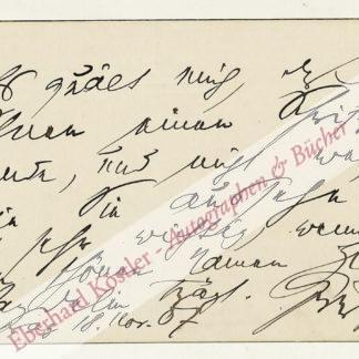 Kerr, Alfred, Schriftsteller und Theaterkritiker (1867-1948).