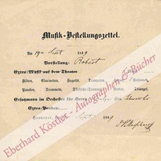 Marschner, Heinrich, Komponist (1795-1861).