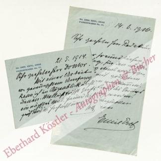 Ertl, Emil, Schriftsteller (1860-1935).