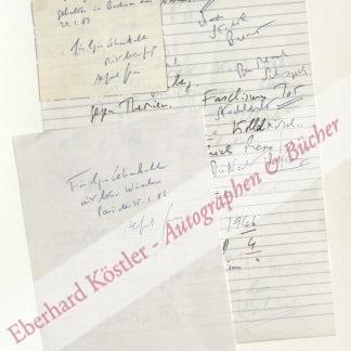 Grosser, Alfred, Publizist und Soziologe (geb. 1925).