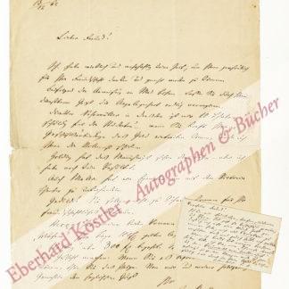 Haffner, Karl, Schriftsteller und Librettist (1804-1876).