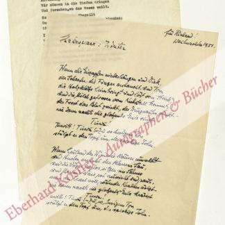 Zanker, Arthur, Schriftsteller und Arzt (1890-1957).