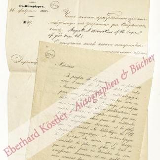 Kupffer, Adolph Theodor, Physiker und Chemiker (1799-1865).