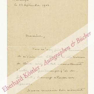 Loti, Pierre (d. i. Julien Viaud), Schriftsteller (1850-1923).