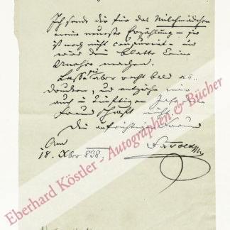Told von Toldenburg, Franz Xaver, Schriftsteller (1793-1849).