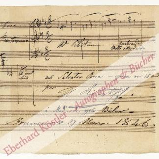 Litolff, Henry Charles, Pianist, Komponist und Verleger (1818-1891).