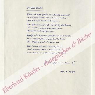 Morawietz, Kurt, Schriftsteller (1930-1994).