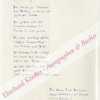 Martin, Adrian Wolfgang, Schriftsteller (geb. 1929).