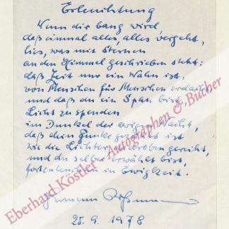 Rossmann, Hermann, Schriftsteller (1902-?).