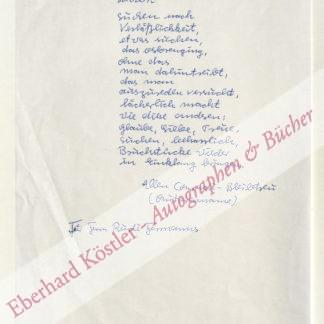 Conradi-Bleibtreu, Ellen, Schriftstellerin (geb. 1929).