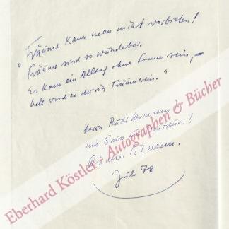 Schwenn, Günther, Schriftsteller (1903-1991).