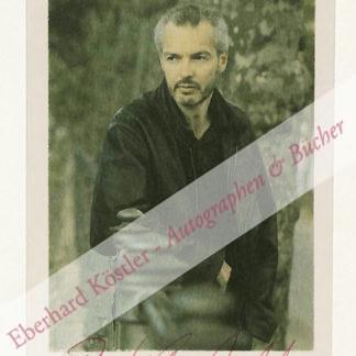 Kirchhoff, Bodo, Schriftsteller (geb. 1948).