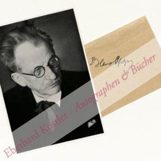 Pfitzner, Hans, Komponist (1869-1949).