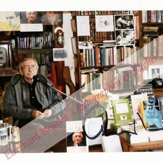 Albee, Edward, Schriftsteller (1928-2016).