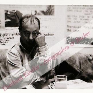 Fries, Fritz Rudolf, Schriftsteller (1935-2014).