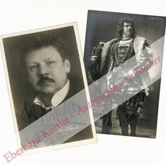Slezak, Leo, Sänger, Tenor (1873-1946).