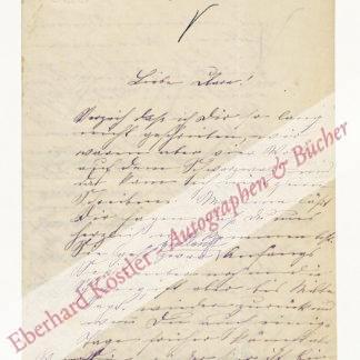 Diemer, Hermine (geb. von Hillern), Schriftstellerin (1859-1924).
