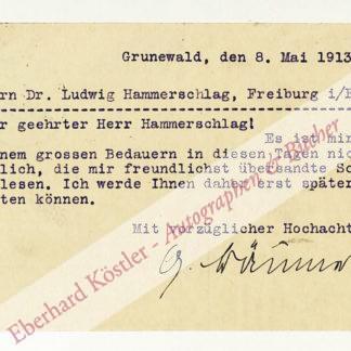 Bäumer, Gertrud, Schriftstellerin (1873-1954).