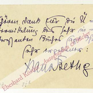 Bethge, Hans, Schriftsteller (1876-1946).