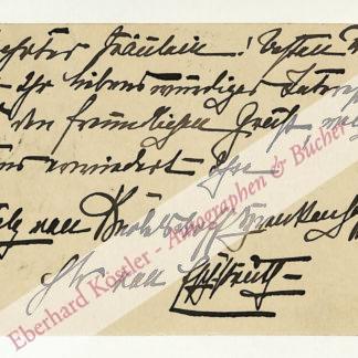 Eschstruth, Nataly von, Schriftstellerin (1860-1939).