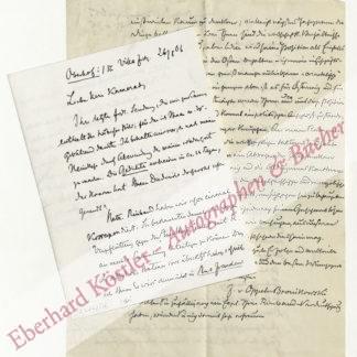 Oppeln-Bronikowski, Friedrich von, Schriftsteller (1873-1936).