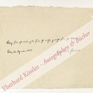 Franzos, Karl Emil, Schriftsteller (1848-1904).