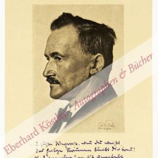 Huggenberger, Alfred, Schriftsteller (1867-1960).