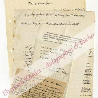 Stehr, Hermann, Schriftsteller (1864-1940).