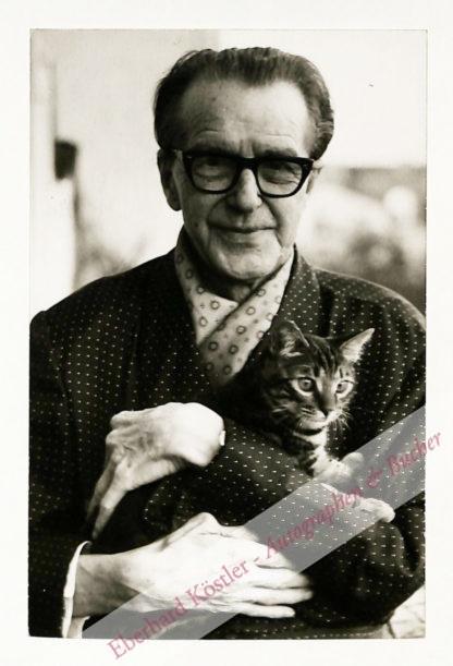 Althaus, Peter Paul, Schriftsteller und Kabarettist (1892-1965).