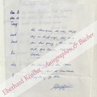 Becker, Alexandra, Schriftstellerin (1925-1990).