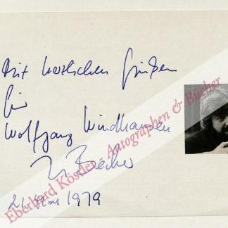 Becker, Jurek, Schriftsteller und Drehbuchautor (1937-1997).