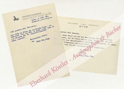 Bender, Hans, Schriftsteller und Herausgeber (geb. 1919).