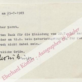 Bingel, Horst, Schriftsteller (1933-2008).