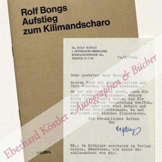 Bongs, Rolf, Schriftsteller (1907-1981).
