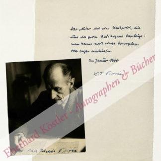 Borée, Karl Friedrich, Schriftsteller (1886-1964).