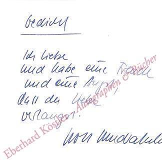 Wondratschek, Wolf, Schriftsteller (geb. 1943).
